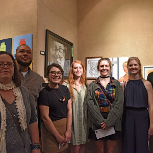 college winners - 2017 Central Texas Art Competition