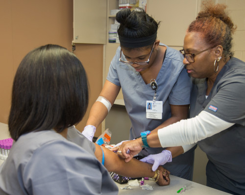 Phlebotomy class